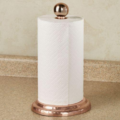Jillian Paper Towel Holder Copper