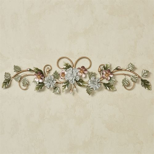 Flowering Charm Wall Topper Multi Pastel