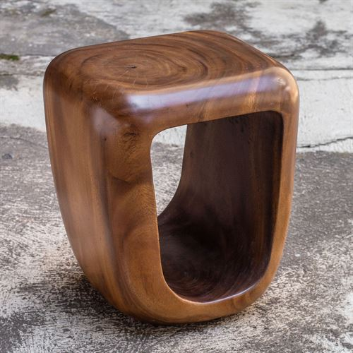 Loophole Accent Stool Natural