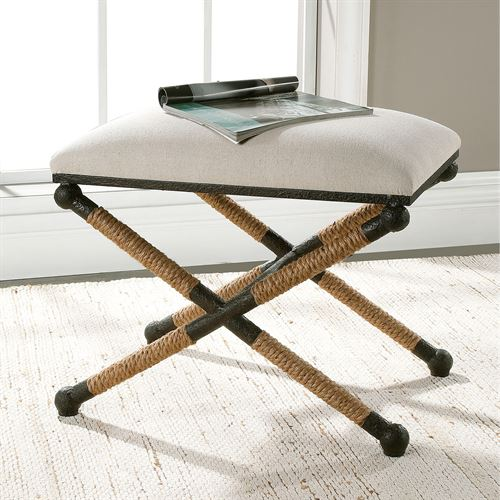 Braddock Small Bench Black