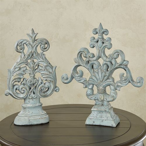 Jimena Tabletop Accents Gray Set of Two