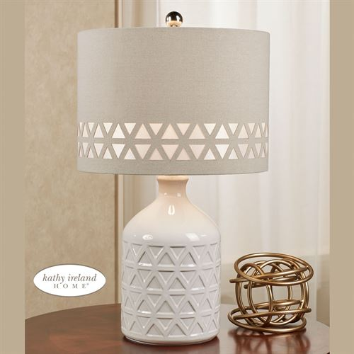 Menlo Table Lamp Off White