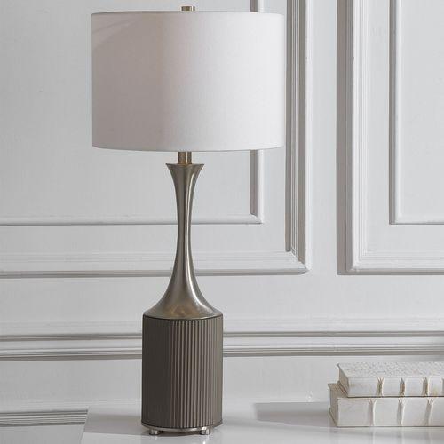 Pitman Table Lamp Gray