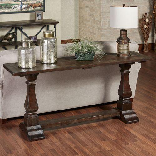 Sumner Console Table Antique Oak