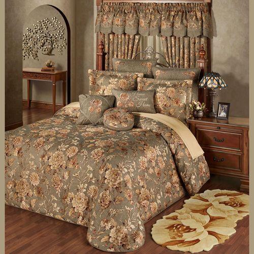 Rhapsody Grande Bedspread Multi Warm