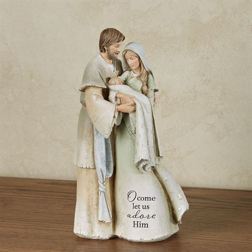 Heavenly Blessings Nativity Figurine Natural
