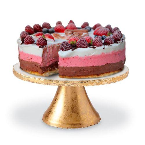 Capri Pedestal Style Cake Stand Gold