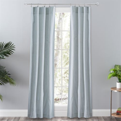 Dupont Striped Curtain Pair