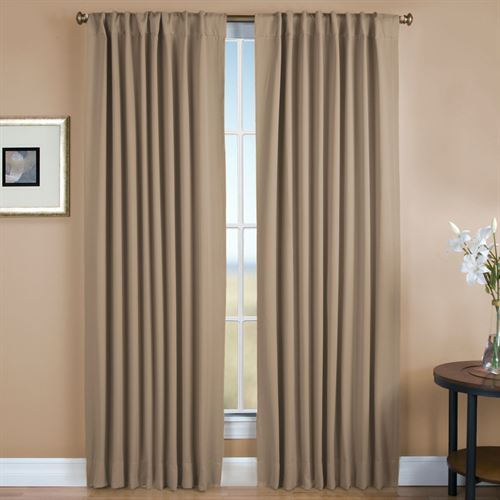 Ultimate Blackout Back Tab Curtain Panel