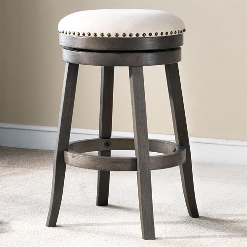 Norwell Counter Stools Gray Set of Two