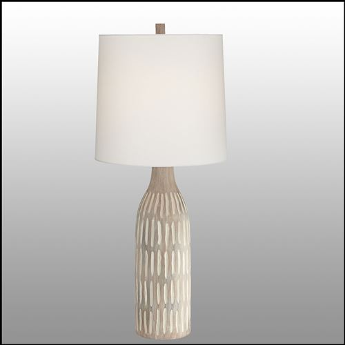 Baylor Textured Table Lamp Natural