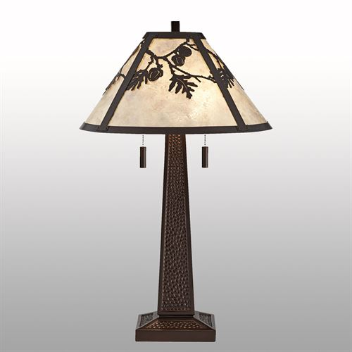 Boone Table Lamp Bronze