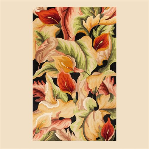 Floral Delight Rectangle Rug