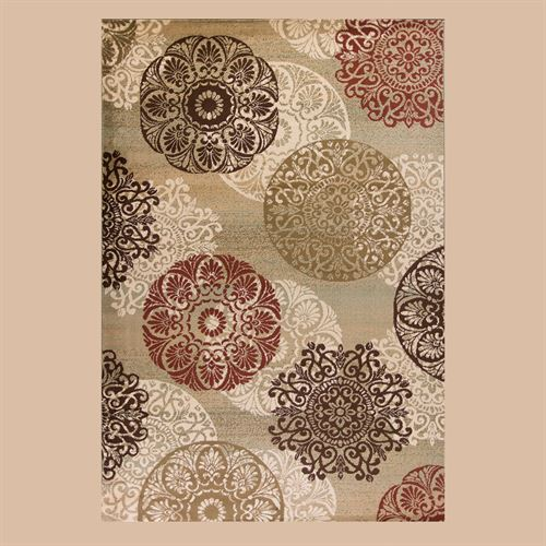 Legacy Rectangle Rug Multi Earth