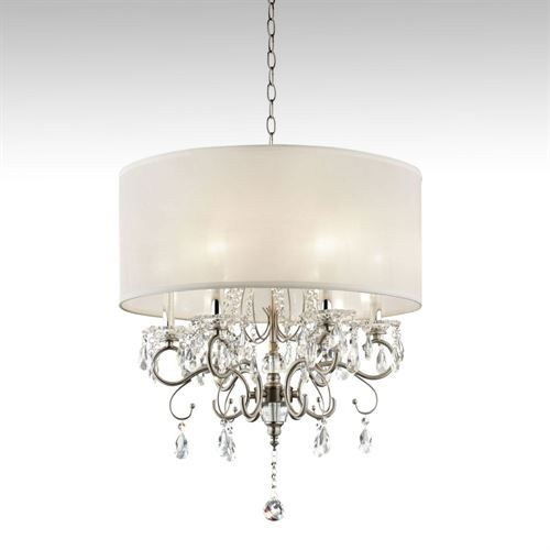 Mariana Crystal Chandelier Silver