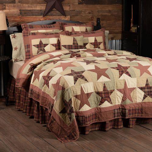 Abilene Star Patchwork Quilt Multi Warm