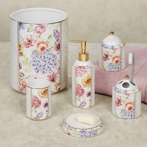 Flora Bella Lotion Soap Dispenser Ivory