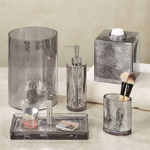Versailles Lotion Soap Dispenser Silver