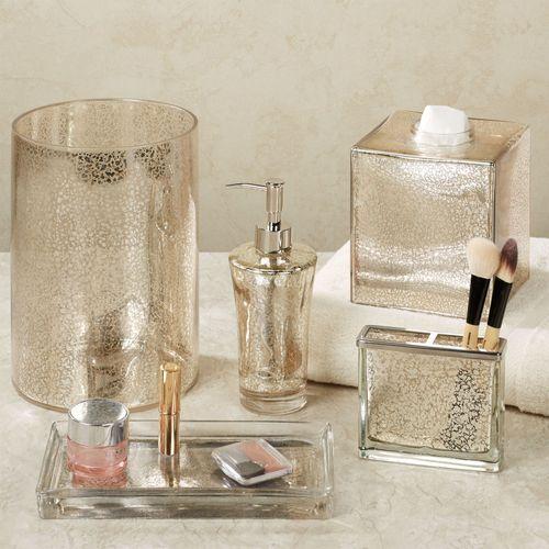 Vizcaya Lotion Soap Dispenser Champagne Gold