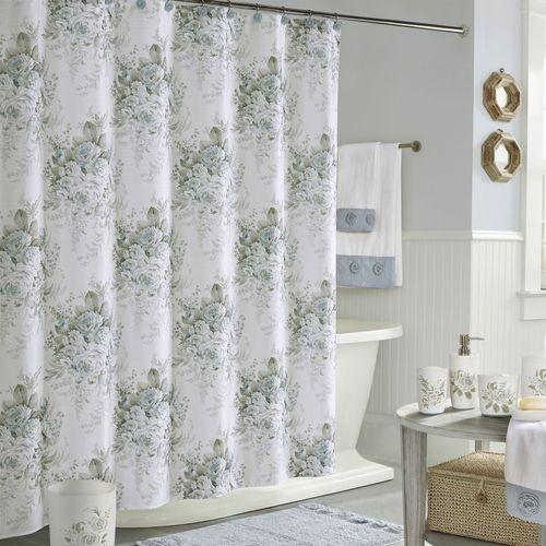 Estelle Shower Curtain Celestial Blue 70 x 72