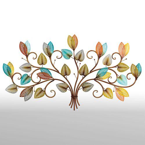 Seasonal Beauty Leaves Wall Art Multi Earth