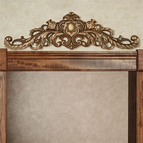 Aradella Door Topper Venetian Gold