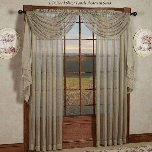 Sanmark Park Sheer Curtain Panel