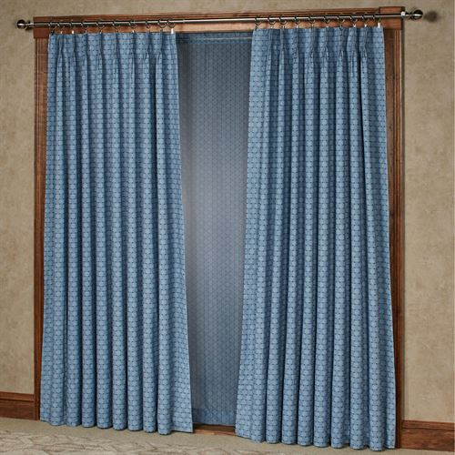 Sanmark Park Pinch Pleat Curtain Pair