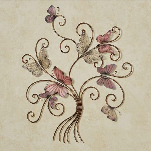 Eliana Butterfly Wall Art Multi Pastel
