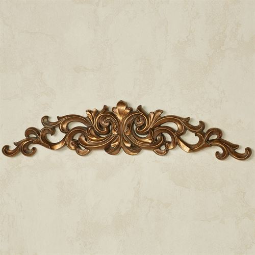 Adaire Wall Topper Aged Gold