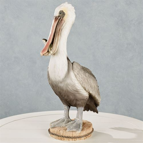 Nigel Pelican Table Sculpture Gray