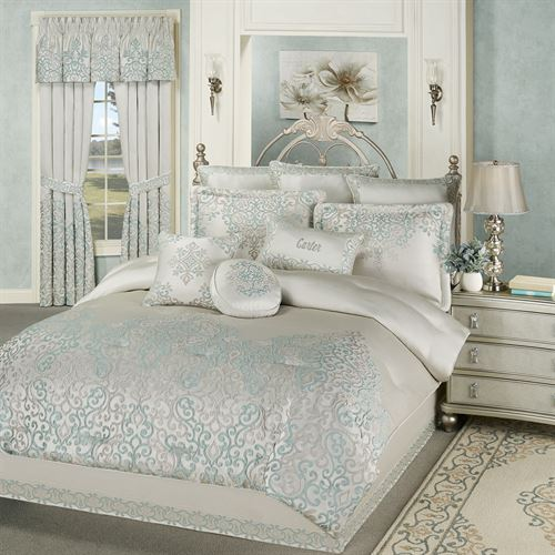 Avalon Comforter Set Oyster