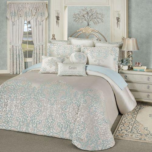 Avalon Grande Bedspread Oyster