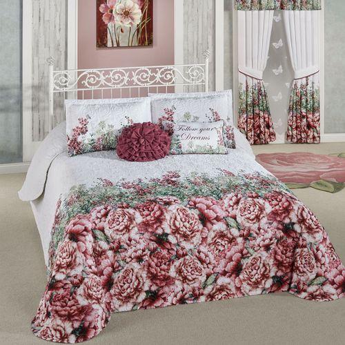 Bloomfield Grande Bedspread Set Claret