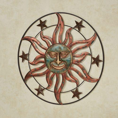 Sebastian Sun Wall Art Copper