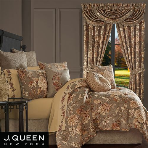 Camellia Comforter Set Multi Warm