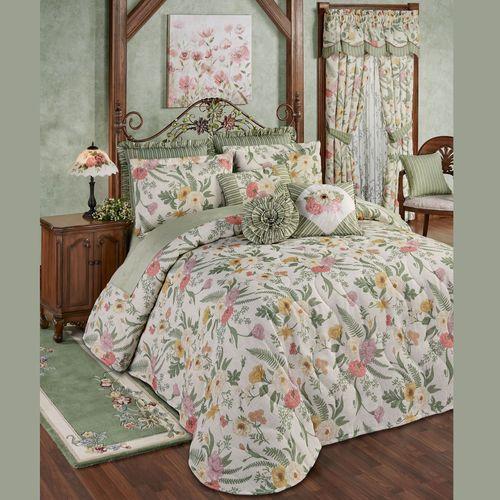 Veranda Grande Bedspread Set Linen