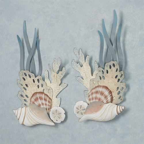 Ocean Bliss Wall Art Natural Set of Two