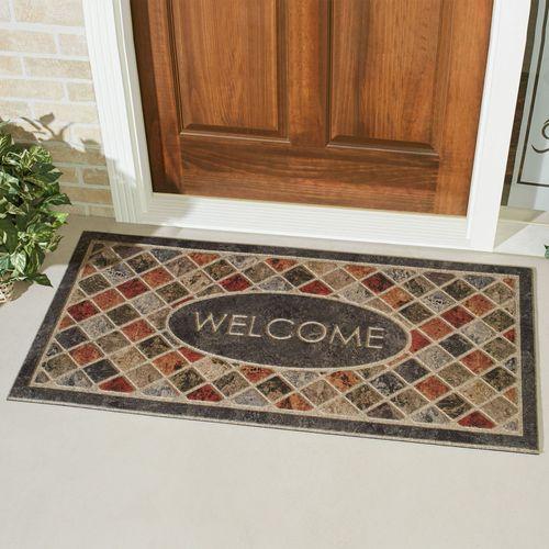Mineral Stone Doormat Charcoal 48 x 24