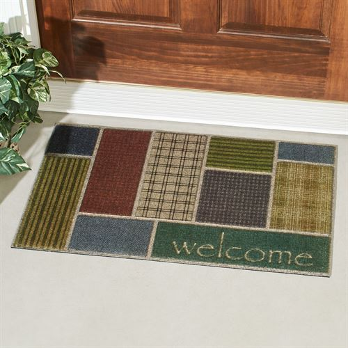 Welcome Impressions Doormat Multi Warm 30 x 18