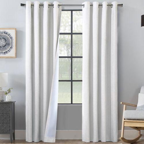 Thurston Wide Grommet Curtain Pair