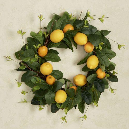 Lemon Wreath Yellow