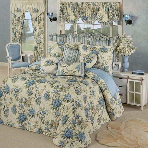 Marquette Grande Bedspread Set Buttercream