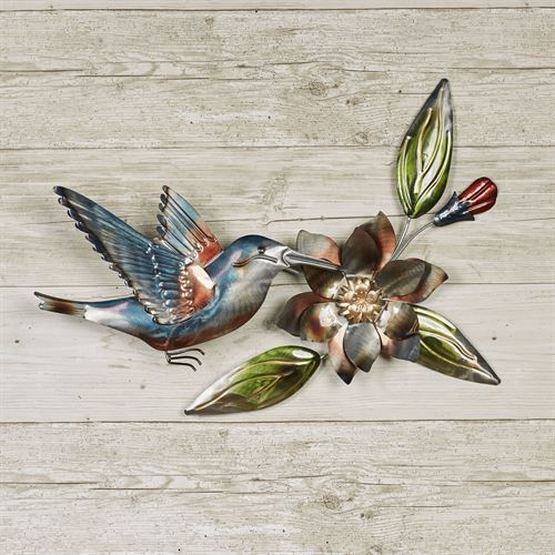 Hummingbird Dance Wall Art Multi Earth