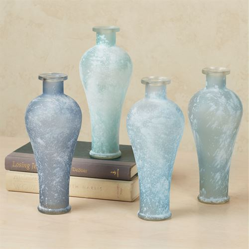 Frosted Jaclynn Vases Multi Cool Set of Four