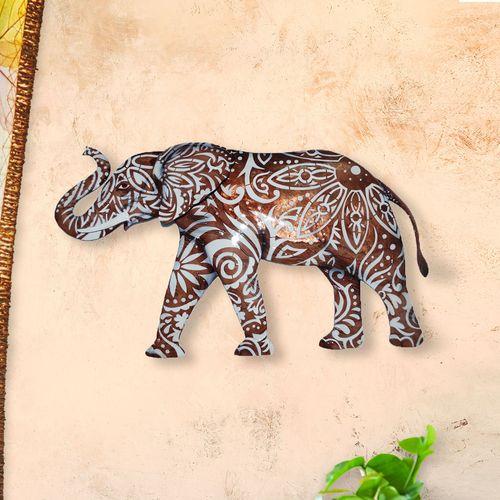 Lox Elephant Wall Art Bronze