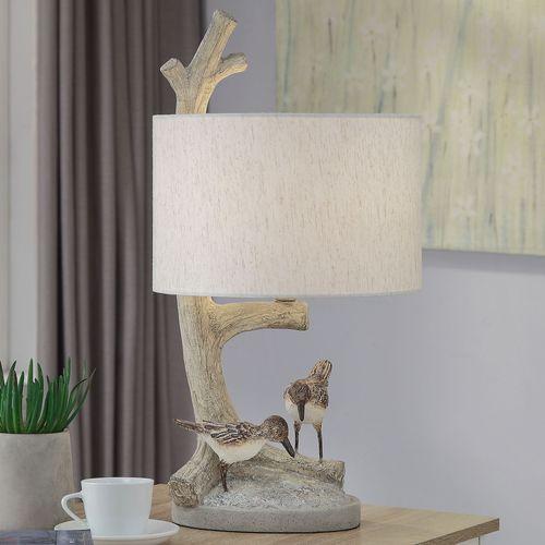 Sandpiper Coastal Table Lamp Natural