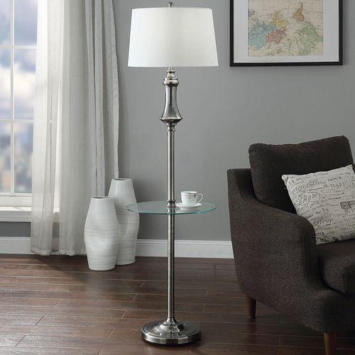 Elmer Floor Lamp Silver