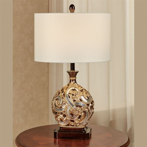 Daniella Table Lamp Multi Metallic