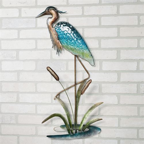 Heron Wall Art Multi Cool